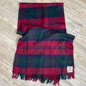 Lindsay Tartan Cashmere Wool Blend Scarf